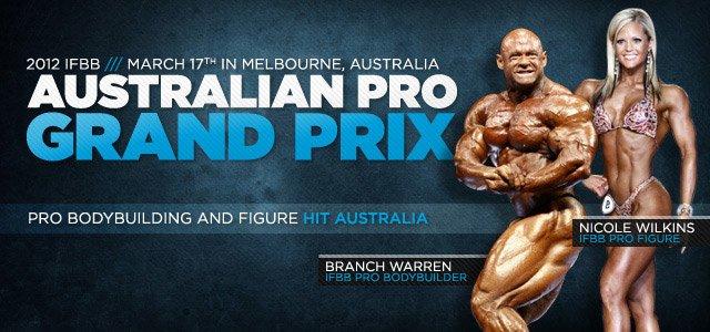 2012 IFBB Aus Pro GP