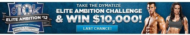 Dymatize Elite Ambition Challenge 2012