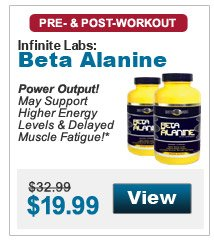 Power Output! May Support Higher Energy Levels & Delayed Muscle Fatigue!*