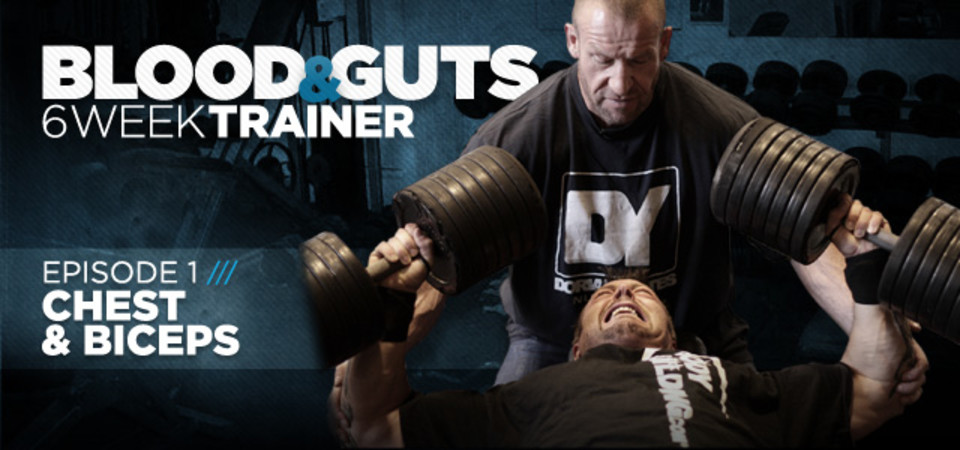 Video Article: Dorian Yates - Blood And Guts, Chest & Biceps