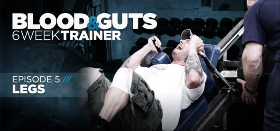 Video Article: Dorian Yates - Blood And Guts, Legs