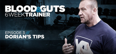 Video Article: Dorian Yates - Blood And Guts, Dorian's Tips