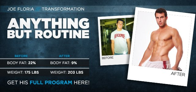 Body Transformation: Anything But Routine