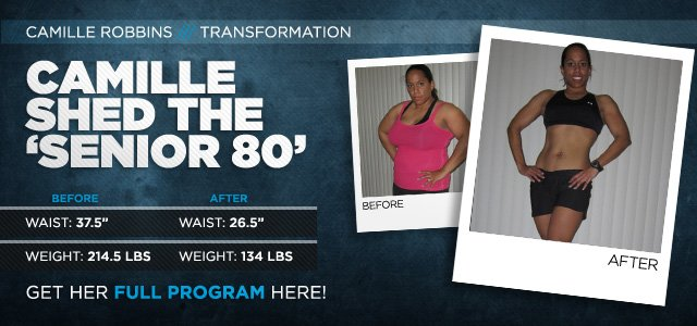 Body Transformation: Camille Shed The 'Senior 80'