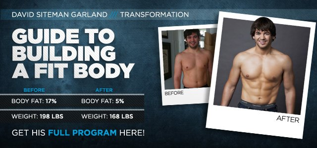 Body Transformation: David's Guide To Building A Fit Body