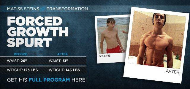 Body Transformation: Forced Growth Spurt