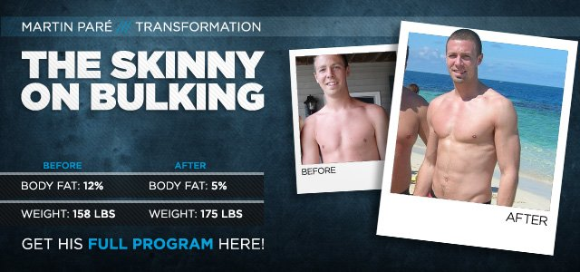 Body Transformation: How Skinny Boys Man Up