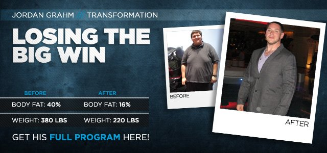 Body Transformation: Losing The Big Win