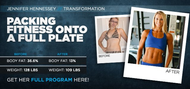 Body Transformation: Packing Fitness Onto A Full Plate