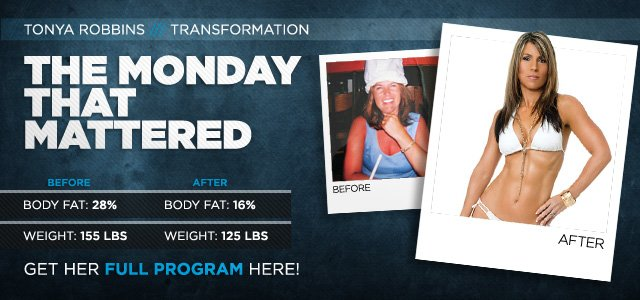 Body Transformation: The Monday That Mattered