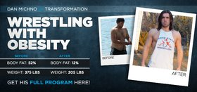 body transformation wrestling with obesity