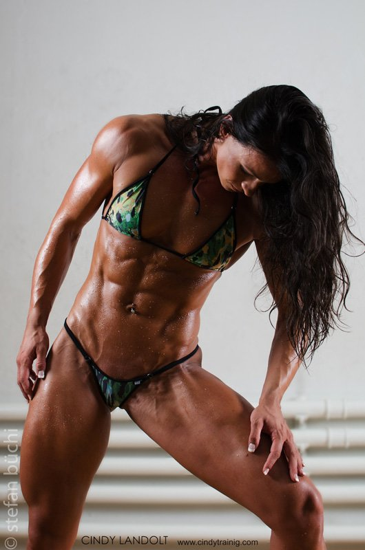 BodySpace Member Of The Month: Cindy-Training, Swiss