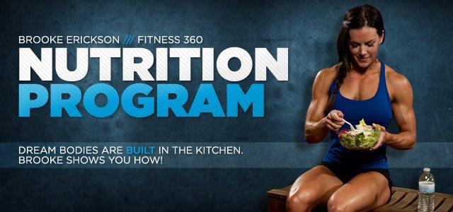 Brooke Erickson Fitness 360: Nutrition