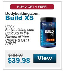 Buy 2 Bodybuilding.com Build XS in the flavors of your choice & get 1 in the flavor of your choice FREE!