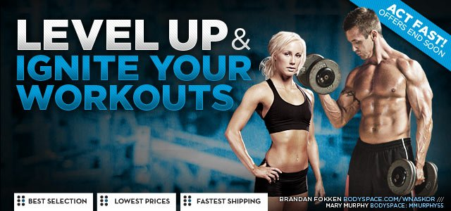 Level Up & Ignite Your Workouts