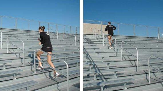 Running Stairs (Bleacher Runs)