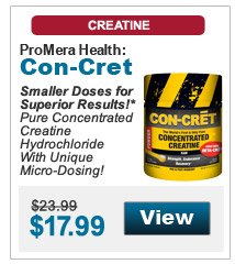 Smaller Doses for Superior Results!* Pure Concentrated Creatine Hydrochloride With Unique Micro-Dosing!