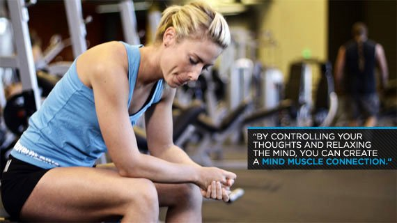 By Controlling Your Thoughts And Relaxing The Mind, You Can Create A Mind Muscle Connection