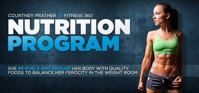 Courtney Prather Fitness 360: Nutrition