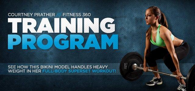 Courtney Prather Fitness 360: Training
