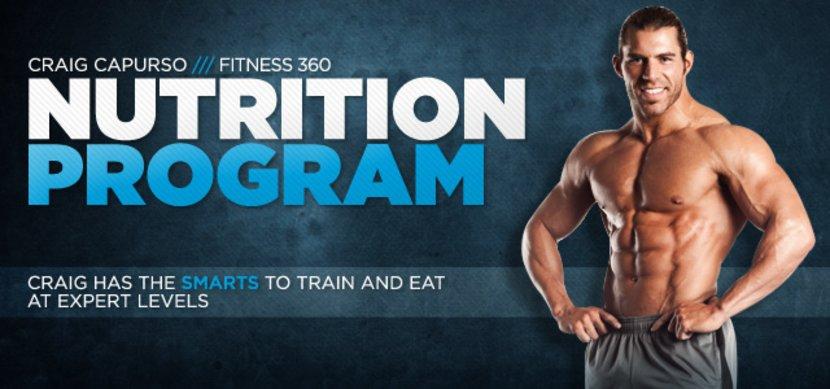 Craig Capurso Fitness 360 - Nutrition