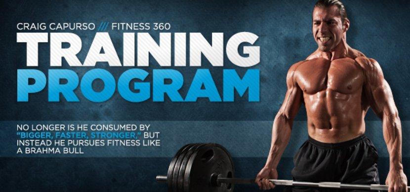 Craig Capurso Fitness 360 - Training