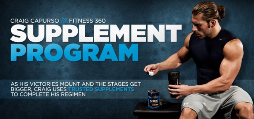 Craig Capurso Fitness 360 - Supplements
