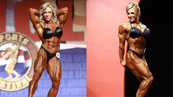 Debi Laszewski at the 2011 Ms. International and Olympia
