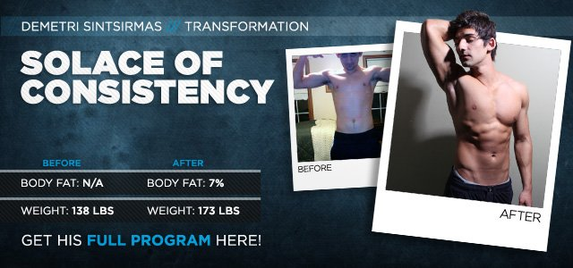 Body Transformation: Solace Of Consistency