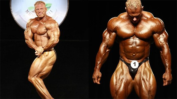 Dennis Wolf at the 2011 Sheru Classic & 2011 Mr. Olympia
