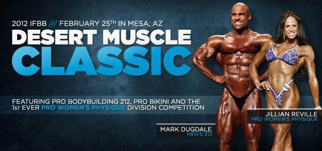 2012 IFBB Desert Muscle Classic