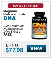 Buy 2 Magnum Nutraceuticals DNA & get 1 FREE!