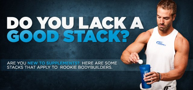 Do You Lack A Good Stack?  Beginning Bodybuilding Stacks