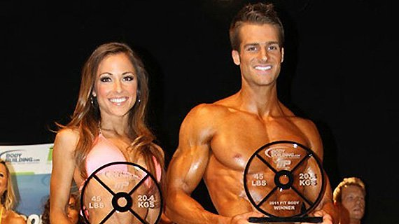 2011 Bodybuilding.com FIT BODY Winners Scott Dorn and Courtney Prather!