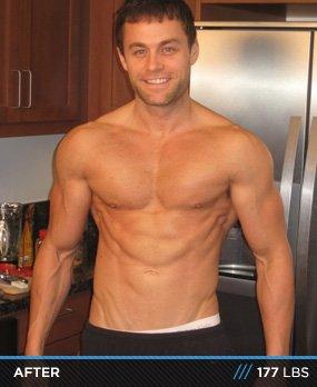 Body Fat Body Building Male