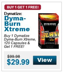 Buy 1 Dymatize Dyma-Burn Xtreme, 120 Capsules & Get 1 FREE!