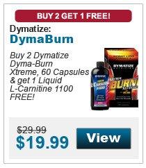 DymatizeDymaburn Buy 2 Get L-Carnitine