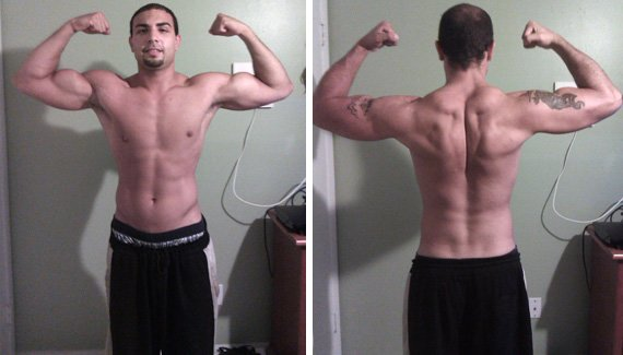 He shelved junk food and delved into Bodybuilding.com!