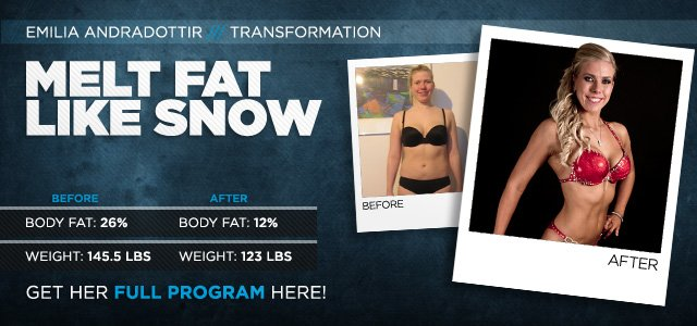 Body Transformation: Nordic Makeover