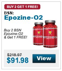 Buy 2 BSN Epozine-O2 & get 1 FREE!