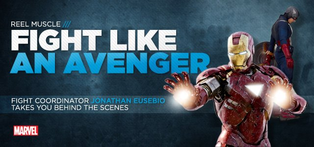 Avengers Fight Training: Jonathan Eusebio Takes You Behind The Scenes