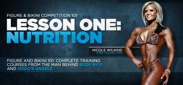 Kim Oddo: Figure And Bikini 101: Lesson One - Nutrition