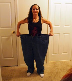 Total Transformation: Half the size, twice the woman!