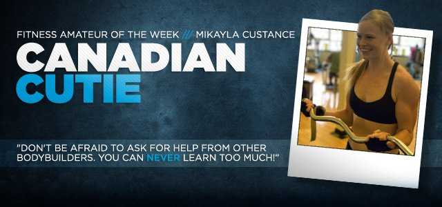 Fitness Amateur Of The Week Canadian Cutie Bodybuilding Com