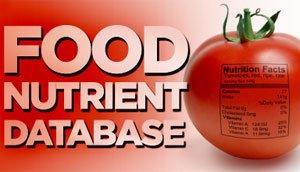 #1 Food Nutrient Database