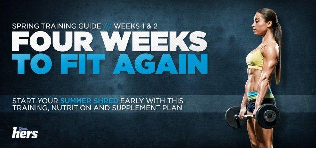 Four Weeks To Fit: Weeks 1-2