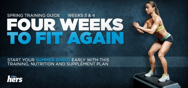 Four Weeks To Fit Again: Weeks 3-4