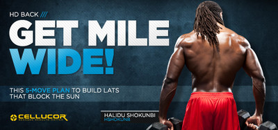 Get Mile Wide! The 5-Move Plan To Build Lats That Blot The Sun