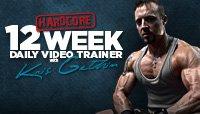 12-Week Hardcore Video Trainer With Kris Gethin