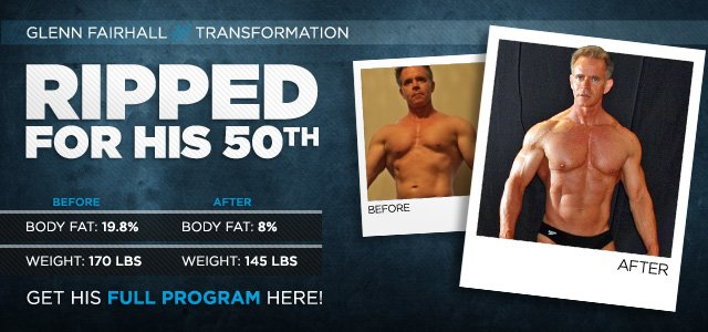 Body Transformation: Ripped For His 50th
